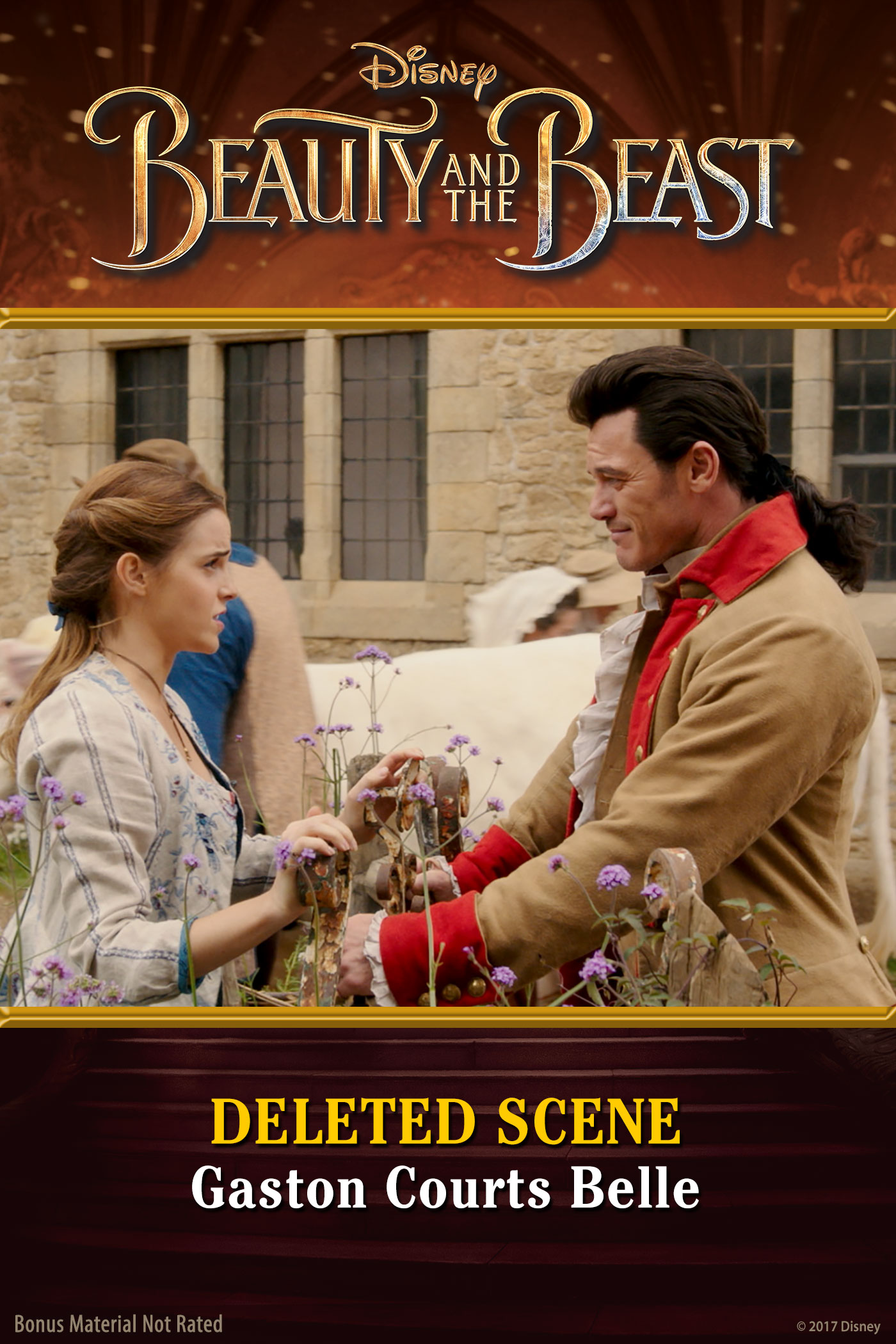 Deleted Scene: Gaston Courts Belle